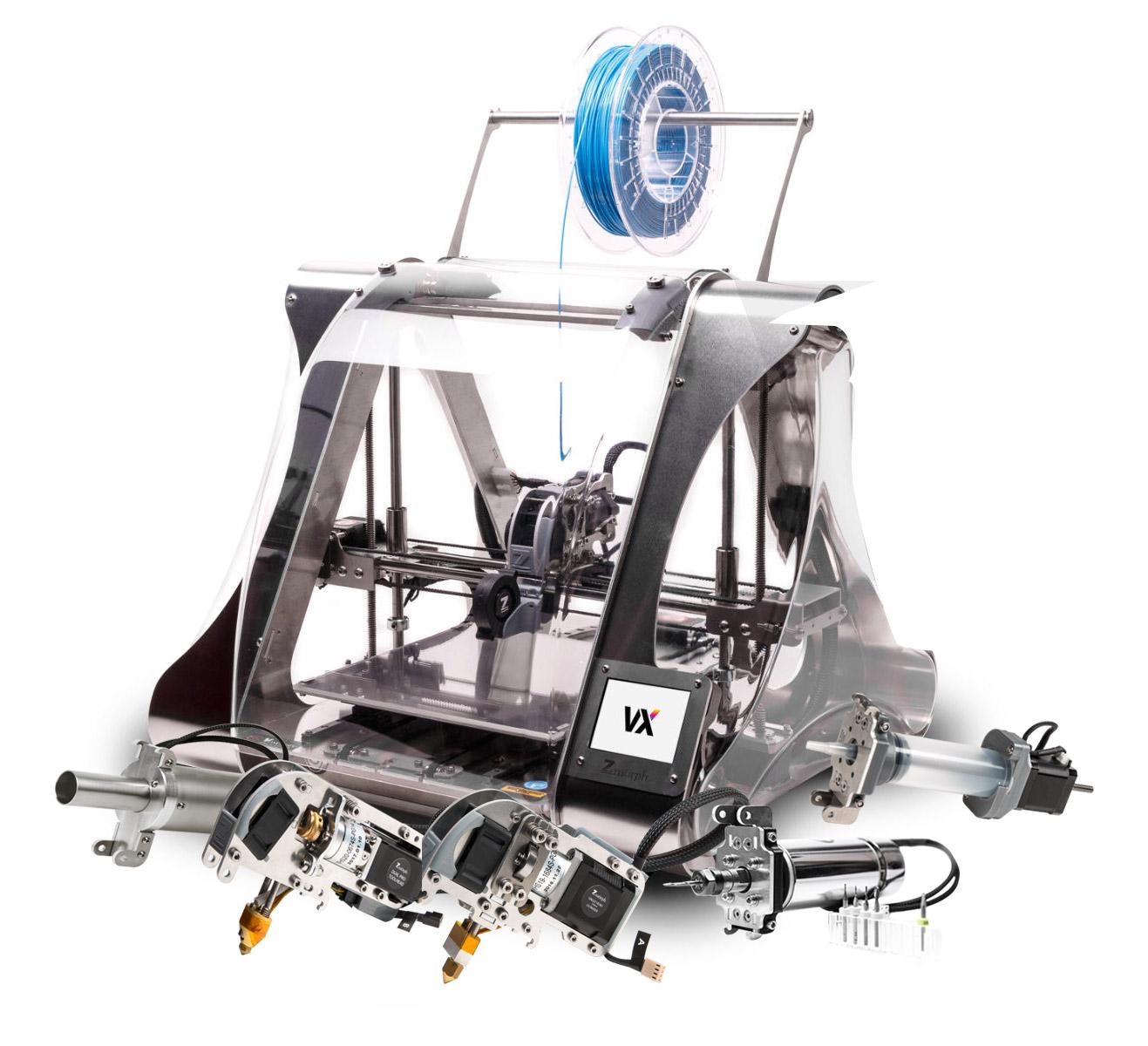 Imprimante 3d Zmorph Vx Set Complet Machines 3d
