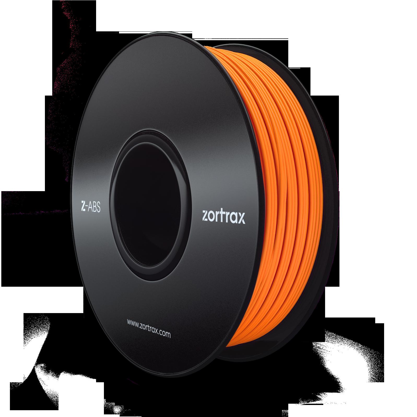 filament zortrax abs 1 75mm orange zortrax z abs orange imprimante 3d scanner 3d impression. Black Bedroom Furniture Sets. Home Design Ideas