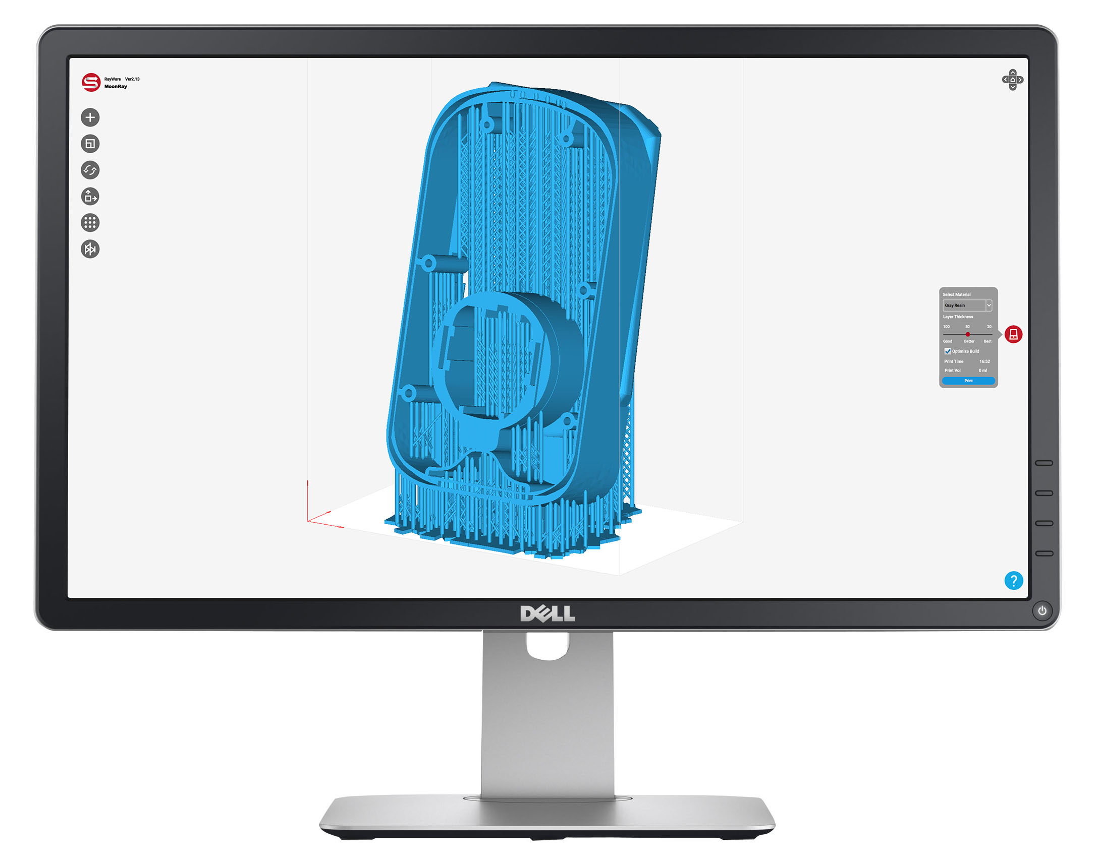 MoonRay_engineering_3dprinting_software